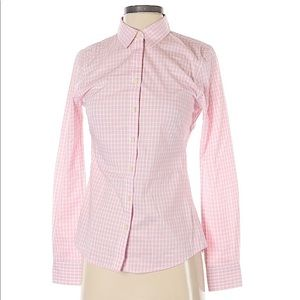 😍 EUC 🎉 Plaid Button Down Collared Shirt by BR